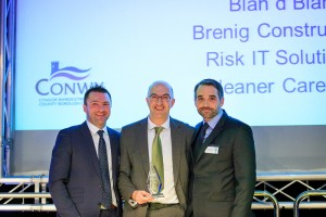 Conwy Business Awards 2015 - winners Brenig Construction